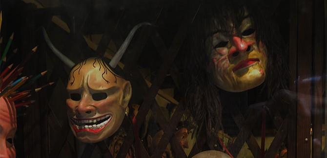 masks Venice Biennale 2013