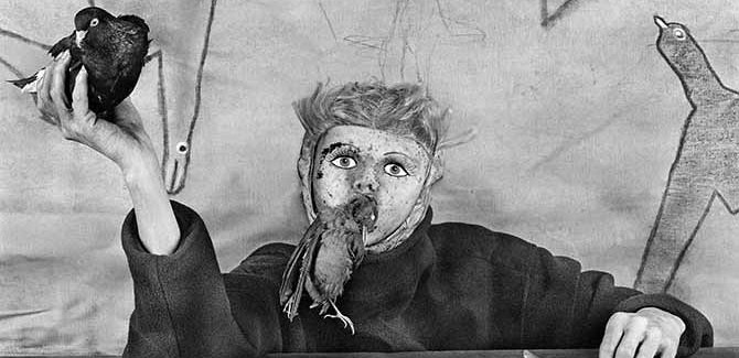 Roger Ballen, 'Take off' (detail) 2012. Image Courtesy of the artist and MONA Museum of Old and New Art, Hobart, Tasmania, Australia