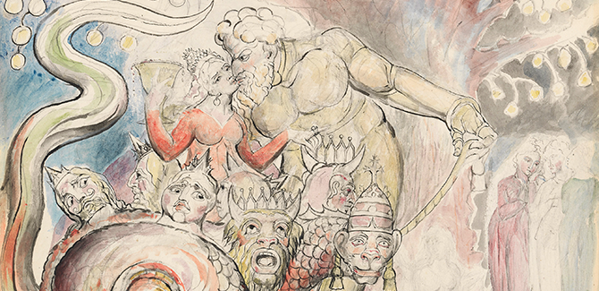 William Blake:  'The Immortal Man That Cannot Die'