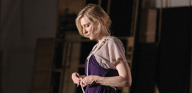 David Rosetzky, Portrait of Cate Blanchett 2008 (still), single channel high definition digital video, colour, sound, 9 minutes, 56 seconds. Courtesy the National Portrait Gallery, Canberra. Commissioned with funds provided by Ian Darling, 2008.