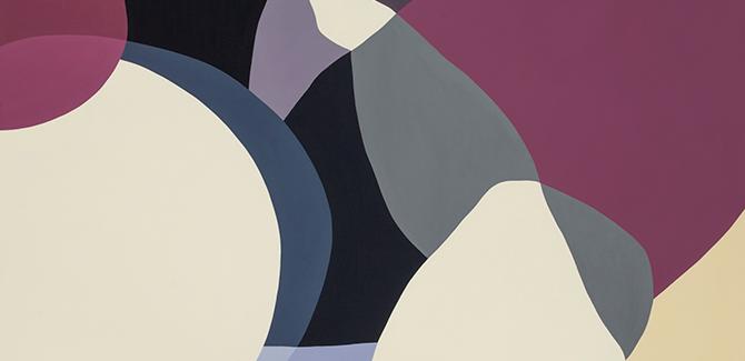 Jennifer Goodman, Delphic 1 2014, oil on linen, 180 x 130cm. Courtesy of the artist and Gallerysmith. Two of a Kind, Bundoora Homestead Art Centre, 7-27 Snake Gully Drive, Bundoora (VIC), opening 22 April 2015