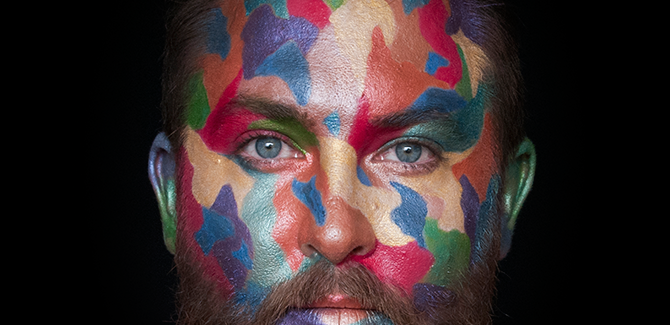 Liam Benson, 'Ned Kelly Red Gum; hypercolour' (detail) 2014, C Type photograph, edition of 5, 50x50cm. Image courtesy of the Artist and Artereal Gallery, Sydney.