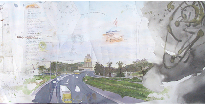 Greg Creek, 'Punt Road Hill Section'.