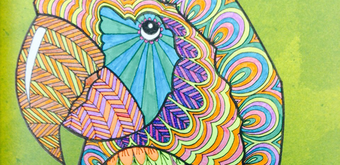 Stress Less: <br>Colouring Books for Grown-ups