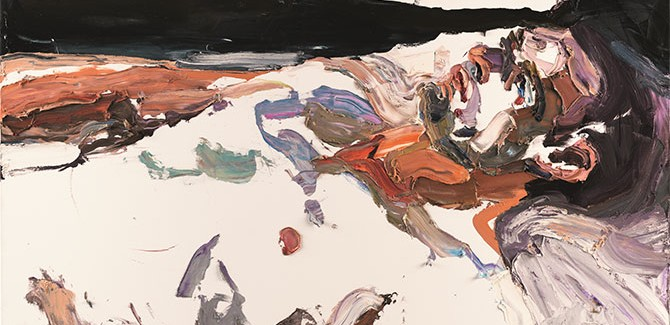 Ben Quilty, 'Captain S, after Afghanistan' painted in Robertson, New South Wales, 2012 oil on linen, 140 x 190 cm acquired under the official art scheme in 2012