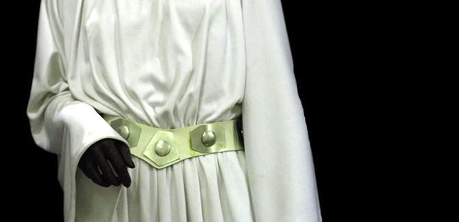 John Mollo (b.1931), designer: Academy Award winner, Best Costume Design for Star Wars (1977). Installation image at Scienceworks, Melbourne: David Collopy.