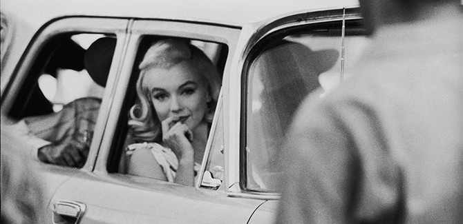 Ernst Haas (1921-86), Marilyn the Goddess, on the Set of 'The Misfits' (1960/2002), silver gelatin print, 32 x 42 cm, © Ernst Haas Studio/Getty Images. (Ernst Haas Estate, New York).