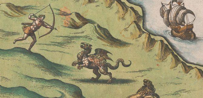 Cornelis de Jode, Novae Guineae forma, & situs, National Library of Australia