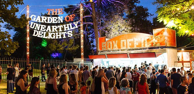 The Garden of Unearthly Delights photos by Andre Castellucci.