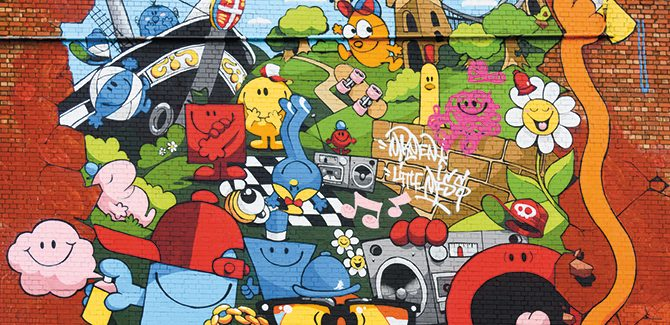 Artist: Cheo Photo: Plaster. Tobacco Factory, North Street, Bristol, UK. Reproduced with permission from Street Art, © 2017 Lonely Planet