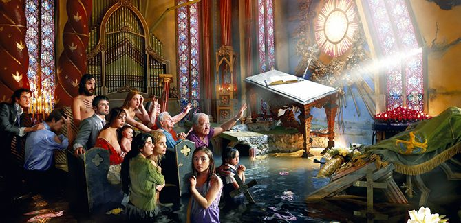 David LaChapelle, Cathedral, 2007