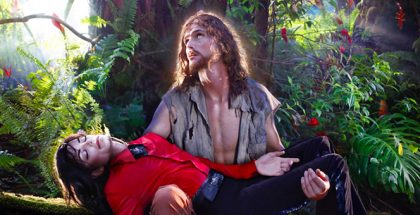 David LaChapelle, Michael Jason in 'American Jesus: Hold me, carry me boldly', Hawaii, 2009