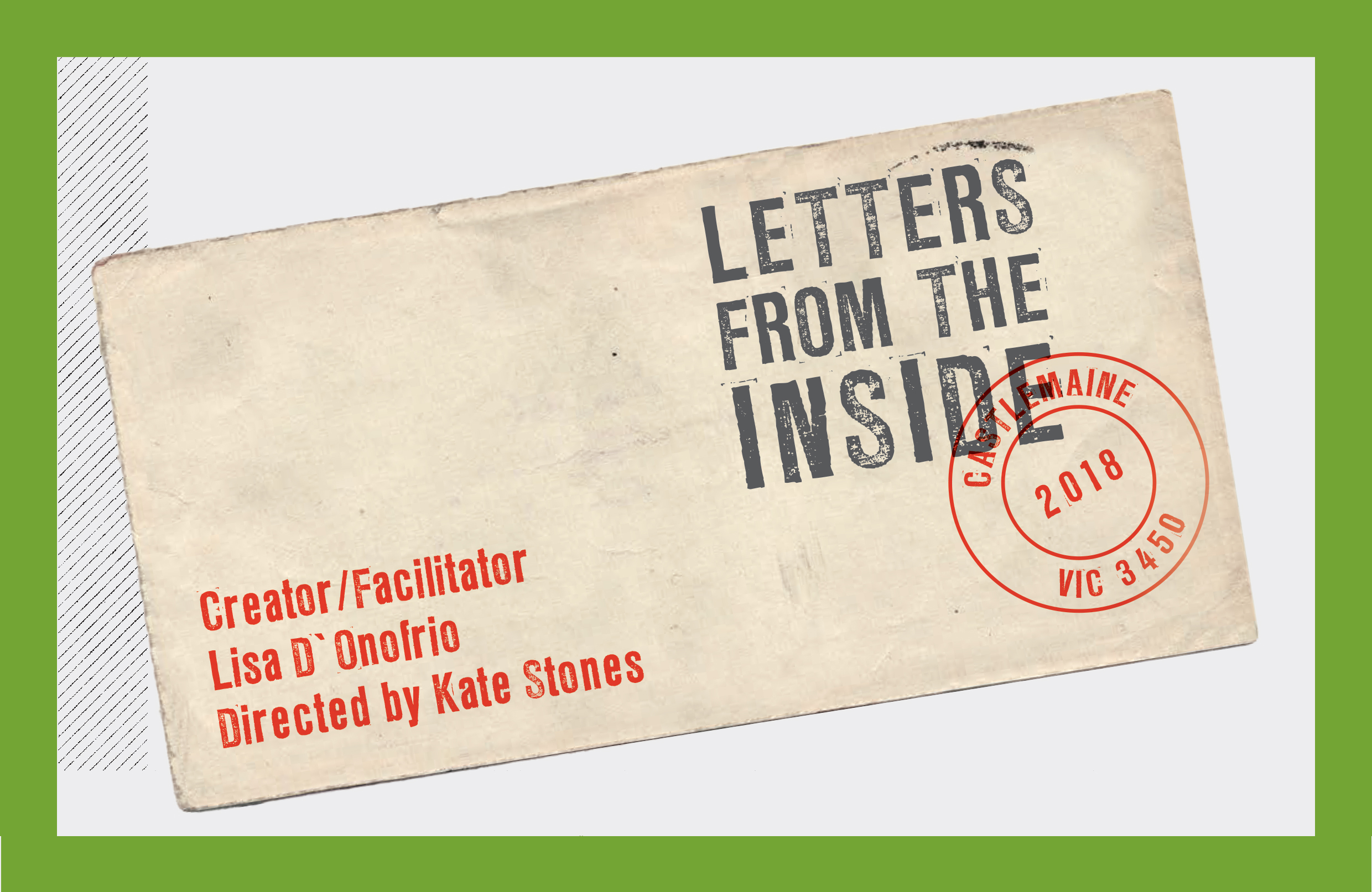 PODCAST: Letters from the inside